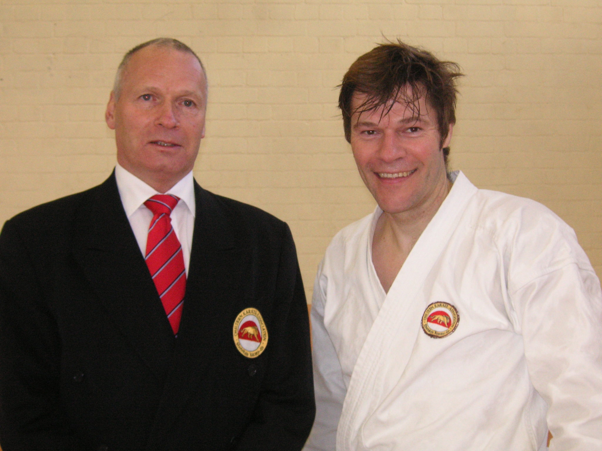 Michael Thornton and Sensei Ashley Croft
